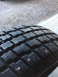 205/70r15 studded winter tires
