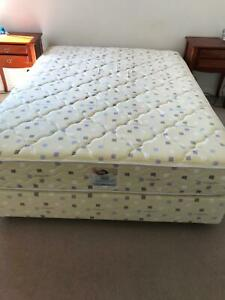 Queen Size bed - mattress and base
