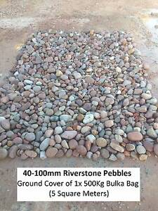 Garden Pebbles River Stone & Rocks FREE DELIVERY Kenwick Gosnells Area Preview