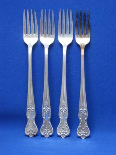 Grille Fork INSPIRATION Wm Rogers Mfg Silverplate MAGNOLIA International