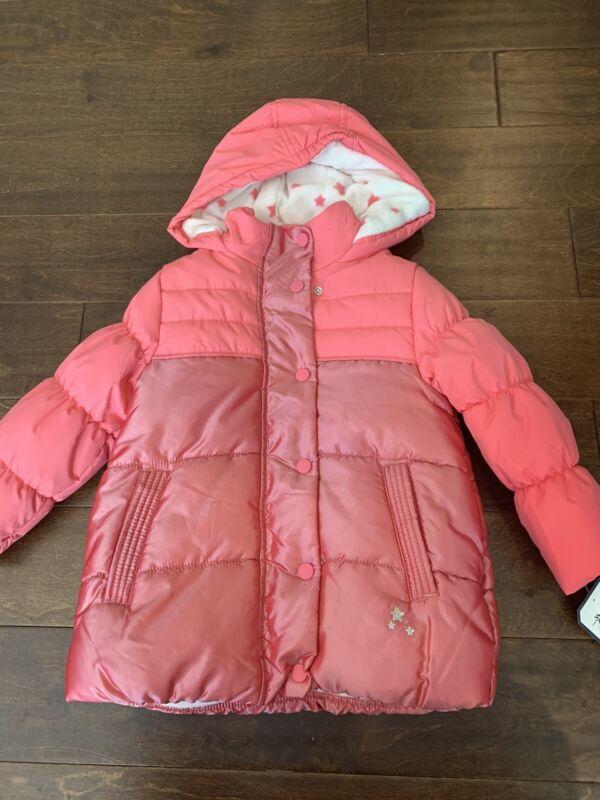 Oshkosh Winter Jacket Coral Size 6