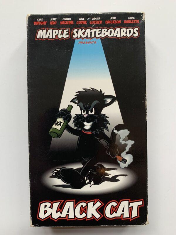 1999 Maple Skateboards Black Cat VHS Skate Video Skateboard