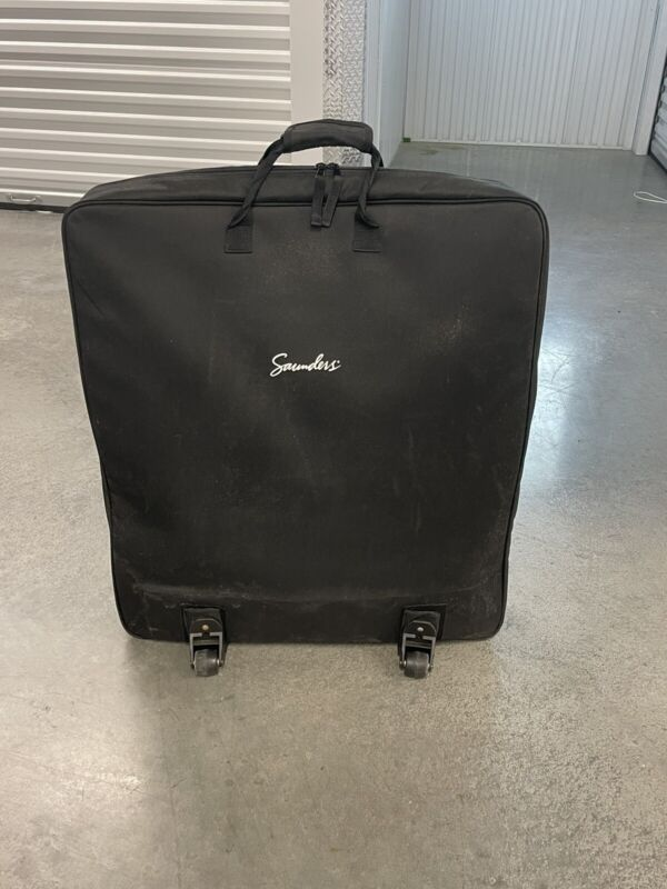 Saunders Lumbar Home Traction device, w/ carrying bag- Pre-owned used condition!
