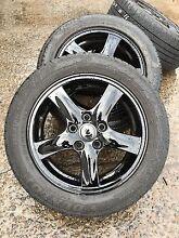 Black 16 inch wheels Yennora Parramatta Area Preview
