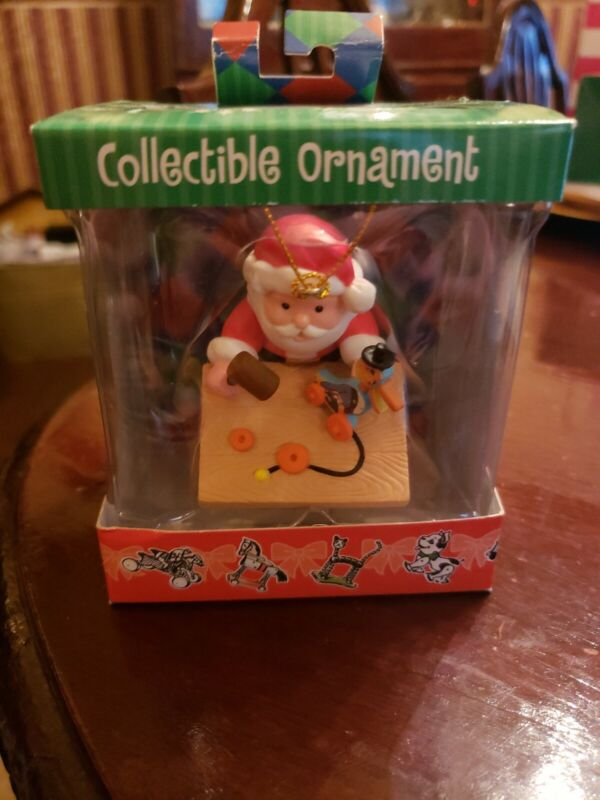 New! 2005 FISHER-PRICE Christmas Ornament SANTA & Dr. DUCK Workbench