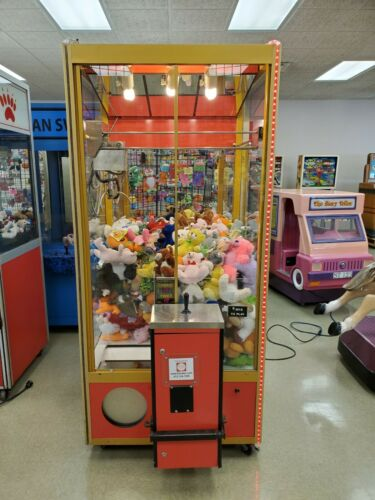 "Smart Classic Crane ""Claw"" machine loaded with Toys/Prizes"