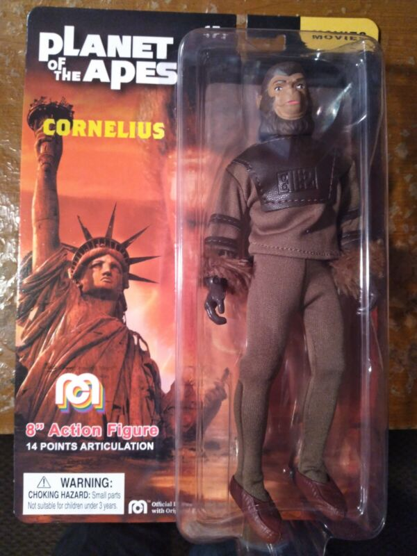"""Mego Planet of the Apes CORNELIUS 8"""" Action Figure MOC - IN STOCK"""