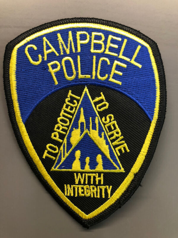 Campbell California Police Patch