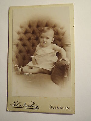 Duisburg - kleines Kind - Baby - Portrait / CDV