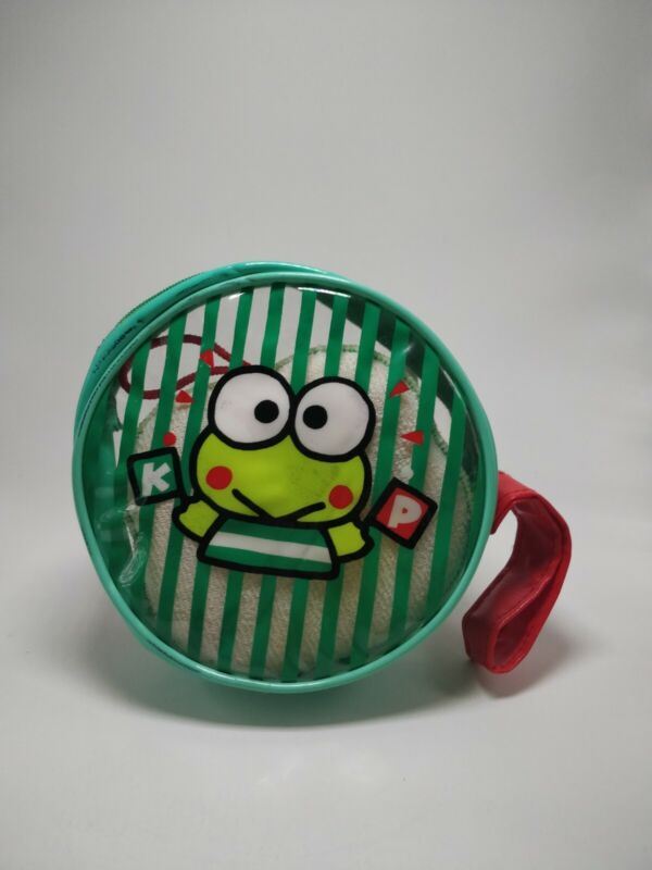 VINTAGE! Keroppi bath set with toothrbush, soap bar, toothpaste. VERY RARE!