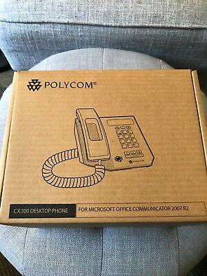 Polycom Cx300 Usb Voip Phone For Skype Lync Teams Zoom Etc