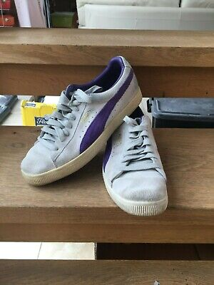 PUMA CLYDE - GREY - UK 8 - VERY GOOD CONDITION