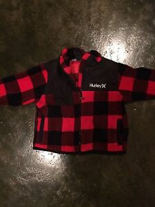 Baby Hurley fleece jacket 24 months excellent condition