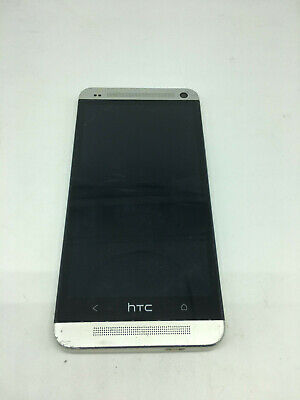 Poor HTC One M7 - 32GB - Silver AT&T Only Clean ESN Smartphone