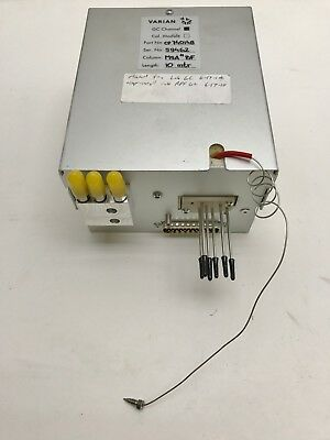 Varian 494001360s Micro-gc Backflush Module 7738