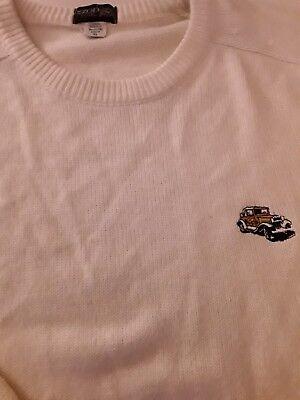 Izod Ga Tech Golf Crew Neck Sweater XL. Ramblin Wreck VINTAGE