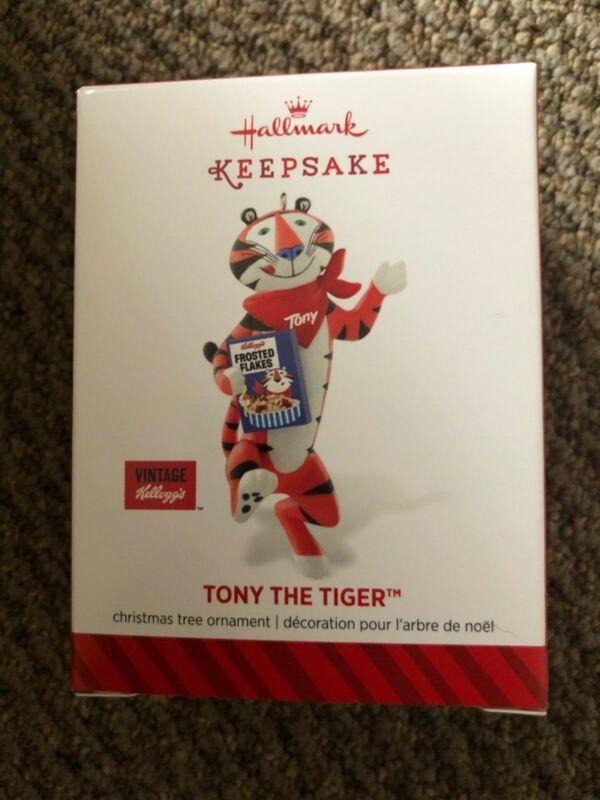 2014 Hallmark Keepsake Tony The Tiger Ornament   - Kellogg