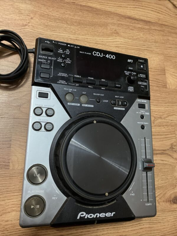Pioneer CDJ-400 Pro CD Player with USB and Effects Works
