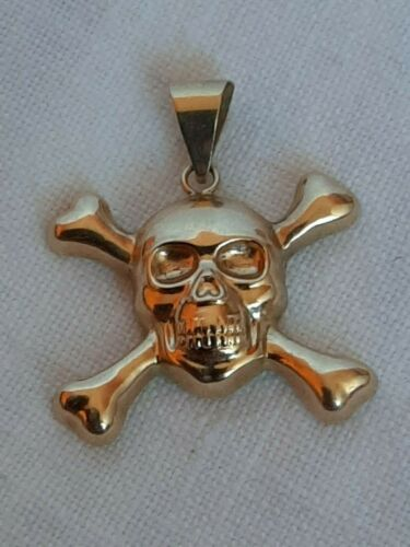 WWII GERMANY MILITARY GOLD 585  PENDANT.