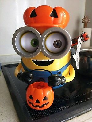 Minion Universal Studios Japan USJ Official Limited Halloween Popcorn Bucket NEW - Universal Studios Japan Halloween