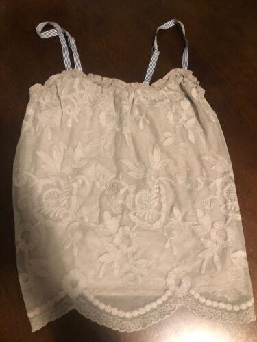 Abercrombie Fitch Women s Crochet Lace Camisole Tank Top XS - $3.00