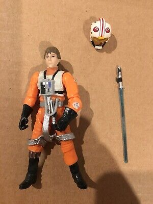 "Star Wars Complete 3.75"" Figure-Vintage Collection Luke Skywalker X-wing Pilot"