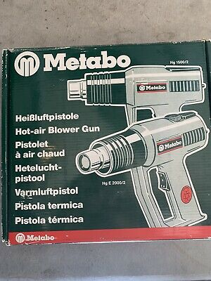 Metabo. Variable 2-speed Heat Gun 250 Or 550 Degree Celsius.