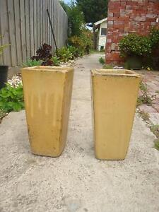 Glazed Garden Pots x2, Lovely Garden Pots, VGC Ormond Glen Eira Area Preview