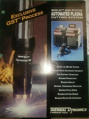 Merlin 6000 Plasma Cutter