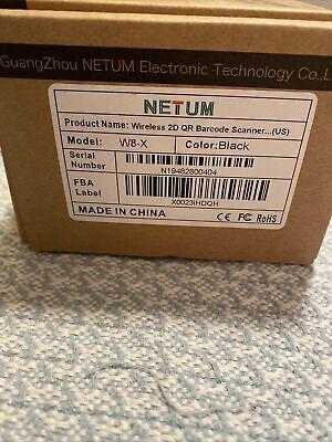 Netum Wireless Ccd Barcode Scanner 2 In 1 2.4ghz Wireless Usb2.0 Wired 1d