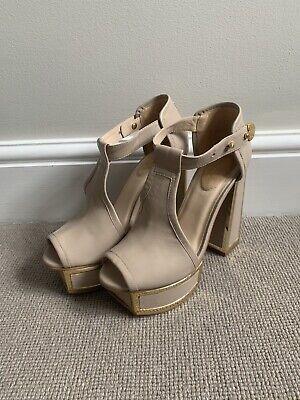 Kat Maconie Pink/nude Heels 5.5 Inches