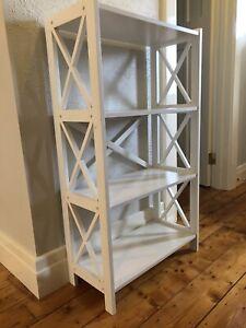 Medium white Book shelf