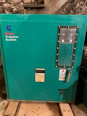 Cummins Onan Lt 200 Automatic Transfer Switch