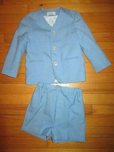 VTG USA MADE imp Originals Blue Jacket & Short Dress Suit/Set/outfit Size 5