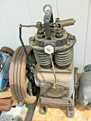 Vintage Curtis Air Compressor Pump Model 80