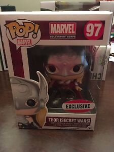 Thor (secret wars ) funko pop marvel collectors exclusive