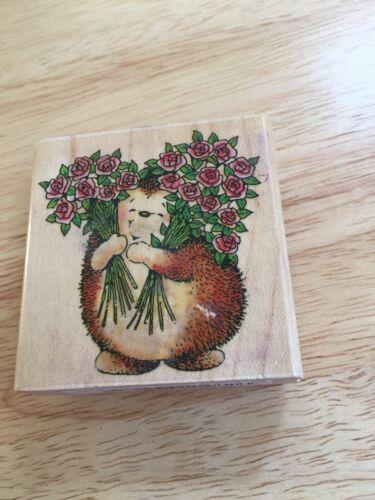 Used Penny Black Stamp-Sweet Hedgehog - $4.99