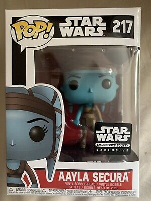 Funko POP! Star Wars - Aayla Secura #217 Smuggler's Bounty Exclusive NIB