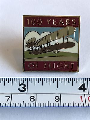 2003 100 Years of Flight Pin - Wright Brothers - Aviation, Airplane