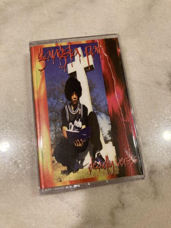 Gangsta Pat Deadly Verses Cassette Tape
