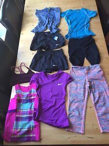 Girls athletic wear. Around age 8-12
