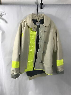 Morning Pride Fire Fighter Turnout Jacket Mod. 2150 Bunker Gear 50 29 35