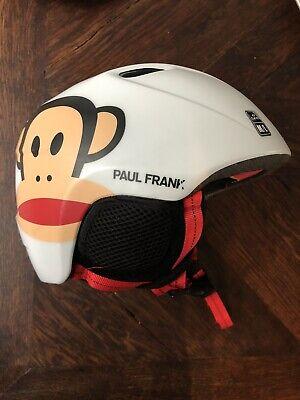 Kinderskihelm Giro Paul Frank weiß Slingshot Gr M/ L ❄️TOP