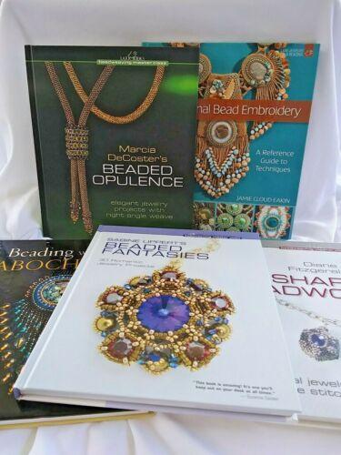 Beadweaving Master Class Books Beaded Opulence and Beaded Fantasies +++