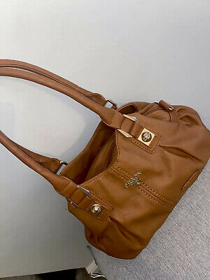 Prada Brown Soft Leather Handbag - Genuine, Vintage Style