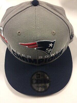 newest f926f a1c26 New England Patriots New Era 9Fifty Super Bowl Champions 51 Patch Snapback  Hat