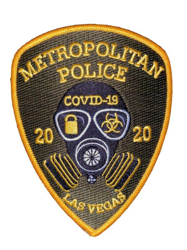 Las Vegas Metropolitan Police Department C0VID 19 Patch LVMPD