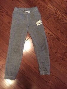 Girls size 10 Roots sweatpants