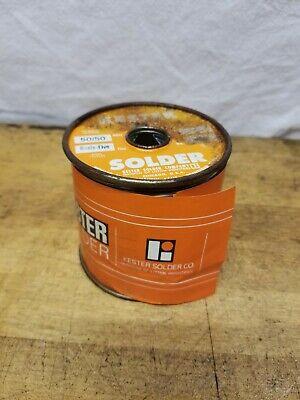 Vintage Kester 5050 Resin-five Solder 5lb Spool