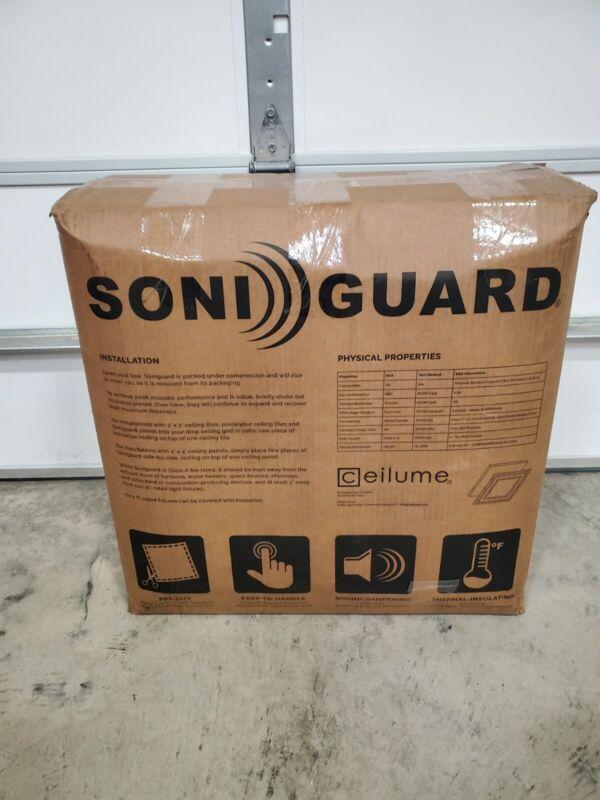 "Ceilume Soniguard 24"" x 24"" Drop Ceiling Soundproofing Acoustic/Insulation"